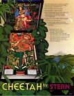 Cheetah Stern Pinball - Mint Flyer/ Brochure / Ad