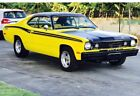 1973 Plymouth Duster Wood Grain Interior , Vinyl Top Exterior American Classic: 1973 Plymouth Duster