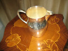VINTAGE WATER PITCHER WITH HANDLE AND SPOUT - SILVER PLATE #5