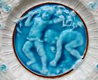 Boch - Reticulated  MAJOLICA Plate - Frolicking  Children - PUTTI'S