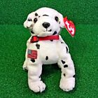 Rare Ty Beanie Baby Rescue – The FDNY Dog Plush Toy RETIRED 9/11 Charity - MWMT