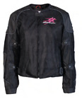 NEW SUZUKI WOMANS HAYABUSA MESH MOTORCYCLE JACKET 990A0 21206