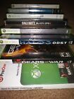 9 XBOX 360 GAMES- GEARS OF WAR' HALO 3 ODST, BLACK OPS 2, AND MORE!!