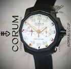 Corum Admiral's Cup Leap Second Foudroyante 48 Mens Watch Box/Books A895/02944