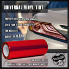 Vinyl Protection Film Smoke Tint Headlight Taillight Fog Light Sider Marker Wrap