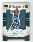 KARL-ANTHONY TOWNS 13 99 RC AUTO JERSEY 2015-16 PREFERRED SILHOUETTES ROOKIE HJ