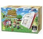 Nintendo 2DS Red and White Console Animal Crossing Portal To A World Of Amazing