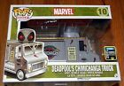 NEW Funko Pop Ride X-FORCE DEADPOOL CHIMICHANGA TRUCK SDCC 2015 EXCLUSIVE