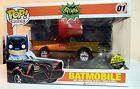 NEW FUNKO POP Rides GOLD BATMOBILE TOY TOKYO SDCC 2014 EXCLUSIVE Golden