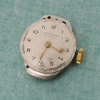 VINTAGE GERMAN JUNGHANS CAL. 674 WATCH MOVEMENT SPARE PARTS REPAIRS