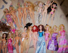 BARBIE Disney Princess Dolls Lot of 19 Played with Condition 2010