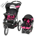 2-1 Stroller Carseat Sport Jogging Travel Kit Baby Trend Combo Size Reclining