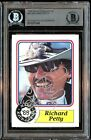 1988 MAXX Charlotte #43 Richard Petty Slabbed Auto Signed Card BAS Authentic