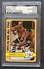 1972 Topps Bobby Hull #126 PSA Authenticated Autograph Card