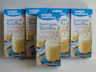 Weight Watchers SMOOTHIE Shake French VANILLA  5 Sealed Boxes  35 Smoothies