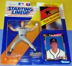 1992 TOM GLAVINE Atlanta Braves HOF Rookie 300 + Wins Starting Lineup and poster