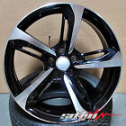 20 RS7 S7 5453 Style Wheels Rims Black Machined Fits Audi A4 A5 A6 S4 A8 RS6