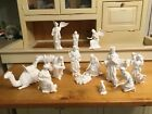 LENOX THE NATIVITY 17 PIECES WITH ORIGINAL BOXES AND PAPERS