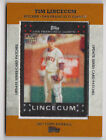 Tim Lincecum Cards, Rookie Cards and Autographed Memorabilia Guide 39