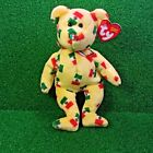 NEW Ty Beanie Baby Pinata The Bear (Mexico Exclusive) 2003 Flag Nose Teddy MWMT