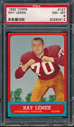 1963 Topps Football Cards 39