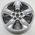 20 DODGE RAM 1500 TRUCK CHROME CLAD USED WHEEL RIM FACTORY OEM 2495 C