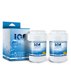 ICEDADDY Refrigerator Water Filter Perfect Fit for GE MWF (2Pack)