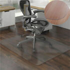 PVC Matte Home Office Chair Floor Mat Protector for Hard Wood Floors Transparent