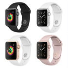 Apple Watch Series 2 38mm Aluminum Case Space Gray Silver Gold Rose Sport Band