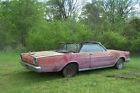 1966 Ford Galaxie 1966 Ford Galaxie 500 2D Convertible 390 4V Z code Auto. Rolling Body or chassis