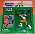 1996 ISAAC BRUCE St Saint Louis Rams Rookie - FREE s/h - Starting Lineup NM/MINT