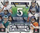 2016 Panini Contenders Hobby Football Sealed Box 5 or 6 Autographs Per Box