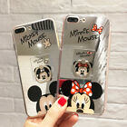 For Samsung S10+ Note 9 Cute Minnie Hello Kitty Mirror Case Cover