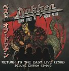 DOKKEN CD - RETURN TO THE EAST: LIVE 2016 [CD/DVD DELUXE EDITION](2018) - NEW