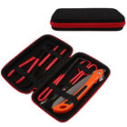 Carbon Steel Bonsai Tool Set 6Pcs Professional Shear Cutter Trimmer Kit in Case