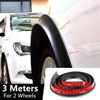 118 Universal Car Wheel Fender Extension Rubber Moulding Flare Trim Protector