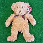 NEW Ty Beanie Baby Huntley The Bear Retired Plush Toy - MWMT - FREE Shipping