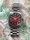 Vintage Certina DS Junior Automatic Red cal. 25-651, SS