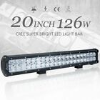 Cree 122022inch Led Light Bar Spot Flood Combo Offroad Driving Suv Jeep 4x4