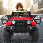 Jeep style Kids Ride on Truck W Remote Control 12V Battery Powered Electric Car