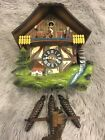 Vintage, highly collectible musical animated Cuckoo clock