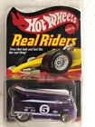 2005 Hot Wheels RLC Real Riders VW Drag BUS Purple w Protecto Pack Series 5