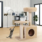 Cat Tree Condo Furniture Scratching Post Kitten Pet Play Toy House Beige 26