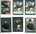 6 JOHN BUCK HOUSTON ASTROS NEW ORLEANS ZEPHYRS AUTO SIGNED BASEBALL CARDS