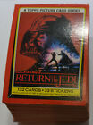 Topps 1983 132 Card Star Wars Return of the Jedi Complete Set Picture Series *