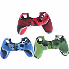 Camouflage Silicone Case Skin Grip Cover For Playstation 4 PS4 Controller    KP