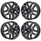 20 CHEVROLET TRAVERSE BLACK CHROME WHEELS RIMS FACTORY OEM 2018 5849 EXCHANGE