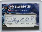 2018 DIAMOND KINGS #DC-GC GARY CARTER AUTOGRAPH CUTS #5 25, MONTREAL EXPOS, HOF
