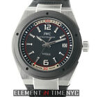 IWC Ingenieur Automatic 44mm Steel Ceramic Bezel Black Dial IW3234-01 NOS