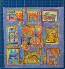 Laurel Burch Fanciful Felines Fabric Quilt Kit 10+ Yards Out of Print 2007